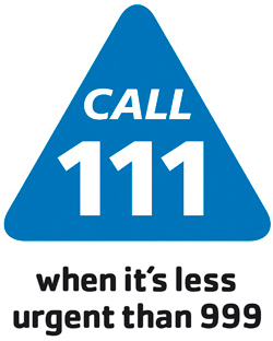 call NHS 111 when we are closed